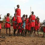 Masai Dance at Miti Mingi Eco CAMP