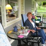  Lovely front porch and terrific view of Seneca Lake