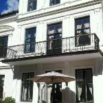 Our lovely Pensjonat from the outside on a summer day. Experience a summer in Oslo with us! We a
