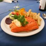 Grilled Macquarie Harbour Trout