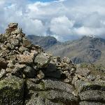  Scafell and Scafell Pike from the Crinkles