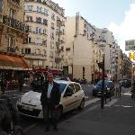  Calle Vaugirard, exteriores del Hotel Yllen