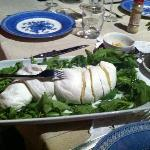  Buffalo mozzarella to die for!!