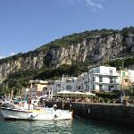  Arrival at Marina Grande in Capri