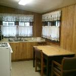 The kitchen, view one.
