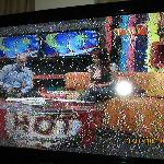  Blurry and fuzzy TV image