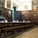 Dining hall at Jesus College, Oxford