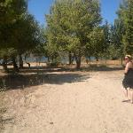 Beautiful beach with trees (Yannis beach)