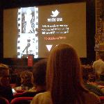  Inside the theater for TIFF