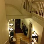  The hallway - the house has nice high ceilings- something I forgot to mention in my main review.