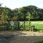  Entrance to the wildlife pond