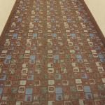 hall carpet pattern