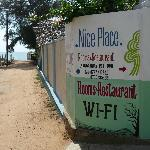 Entrance (50 mtrs from the beach)
