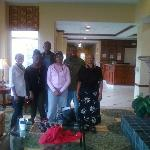  my family at the Hilton