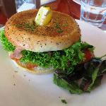 Posh Nosh Salmon Bagel