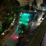 Mirlos pool at night