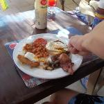 English Breakfast Every Morning 5lira = about £1.75p