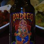 Good selection of wine, and also local Indian beer, like Indica.