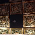 Ornate ceiling puts the Taste of India a notch above your typical strip mall blandness.
