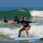 Learing to surf!