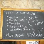  &quot;Our&#39;s Bar&quot; Chalkboard SPECIAL!