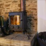 The Log Burner in 'Smiddy