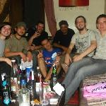 an Aussie Hostels' night