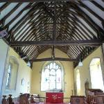 Oare Church interior