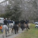 Piedmont Fox Hunt departs