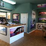Latitudes Fine Art Gallery in the Ventura Harbor