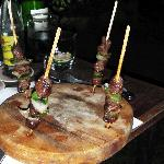  Mini Brochettes de Boeuf
