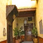  Outside Riad Damia