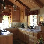 Kitchen in the Creekside Room