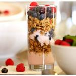 The packed with power yogurt parfait