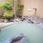 Open Air Hot Spring Bath For Men
