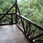 Wonderful balconies with long views over the selva