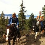Gorgeous scenery, nice horses, great guide!