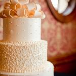 catered wedding cake