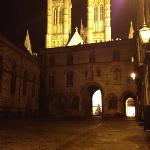 lincoln cathedral by night