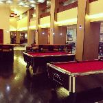 Lobby Pool Tables