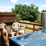 Patriot Cottage Hot Tub