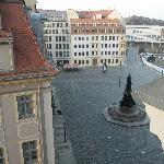  view of old town square from room