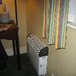 Heater in room
