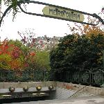 Metro entrance Denfert Rochereau
