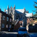 The view to the minster