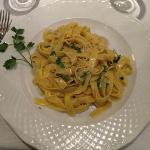  tagliatelle in crema di tartufo