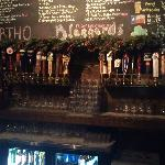 Over 50 beers on tap - this is just one side of the offerings!