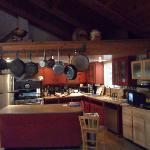 Kitchen where Sharon makes breakfast magic happen.