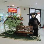 A teddy bear retail shop at Lobby