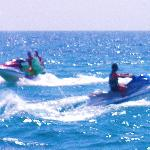 Amazing adrenaline-pumping experience on the JetSkiis